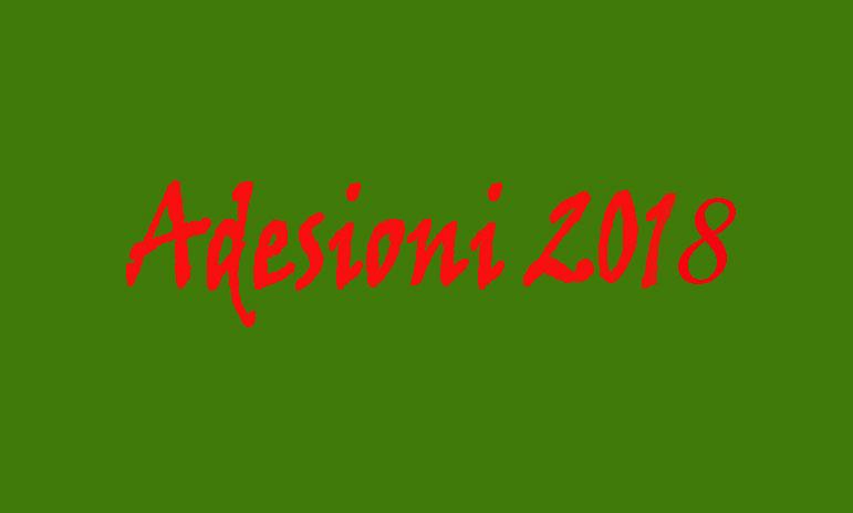 Adesioni 2018